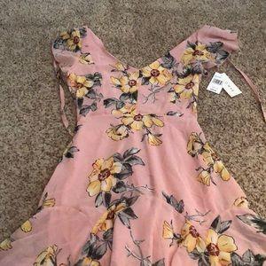 new never worn pink dress!